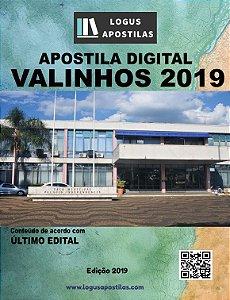 Apostila PREFEITURA DE VALINHOS 2019 Pedagogo SS