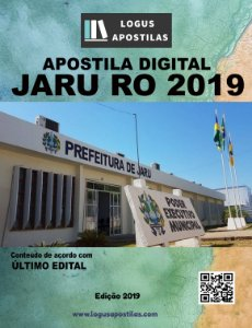 Apostila PREFEITURA DE JARU RO 2019 Agente de Defesa Civil