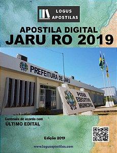 Apostila PREFEITURA DE JARU RO 2019 Fiscal Ambiental