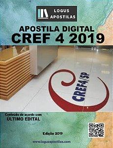 Apostila CREF 4ª REGIÃO SP 2019 Controlador Interno