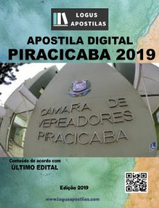 Apostila CÂMARA DE PIRACICABA SP 2019 Agente Administrativo