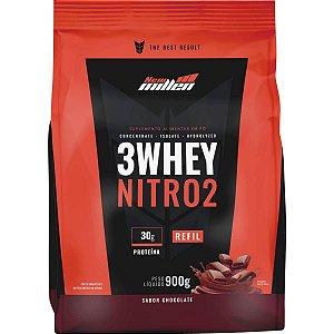 Refil 3 Whey Nitro 2 (900g) New Millen