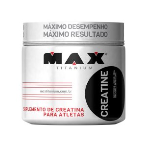 Creatina 300g - Max Titannium
