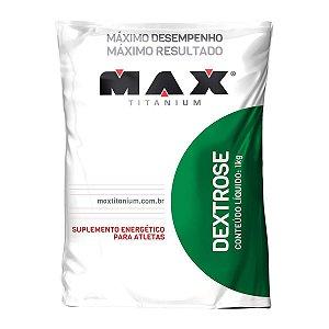 Dextrose 1kg Sem Sabor - Max Titanium