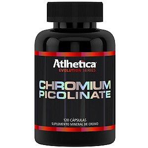 Chromium Picolinate 120 Cápsulas - Atlhetica Nutrition