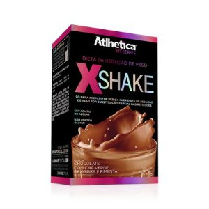 X-Shake Atlhetica c/ Chá Verde, Gengibre e Pimenta 420g - Atlhetica Nutrition