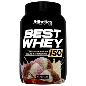 Best Whey Iso Hydrolyzed 900g - Atlhetica Nutrition