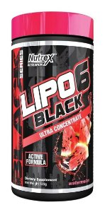 Lipo 6 Black Ultra Concentrade 120g - Nutrex