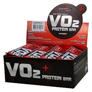 Barra de Proteína VO2 Bar 24 unidades - IntegralMedica