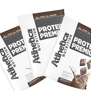 Kit c/ 3 Proteinas Premium 850g cada / Total 2.550kg - Atlhetica Nutrition