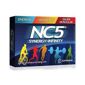 Energético NC5 Synergy Infinity (30 Cáps) - Sanibras