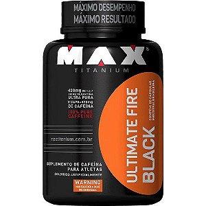 Termogênico Fire Black 60 Cápsulas - Max Titanium