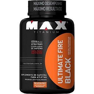 Termogênico Fire Black 120 Cápsulas - Max Titanium