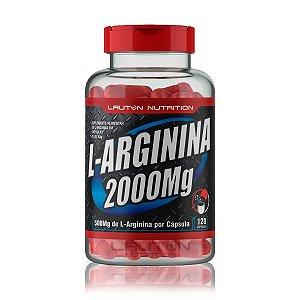 Arginina 2000mg 60 Cápsulas - Lauton Nutrition