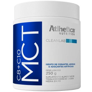 MCT C8+C10 250g  - Atlhetica Nutrition