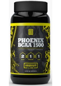 BCAA Phoenix 1500mg 90 cápsulas - Iridium Labs