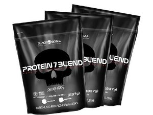 Protein 7 Blend 837g cada - Black Skull (Unidade)