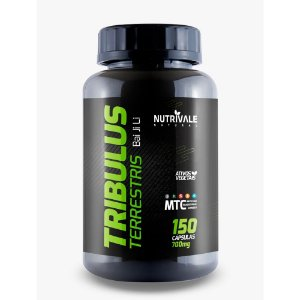 tribulus terrestris - 700 mg Mtc madeira - 150 caps  - bai ji li - NUTRIVALE