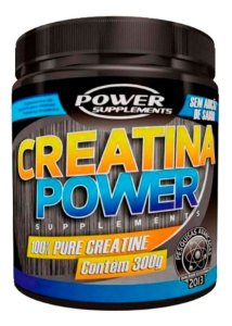 Creatina 300g Pura - Power Supplements