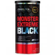 Monster Extreme BLACK 44 PACKS - Probiotica (Val: 03-2020)