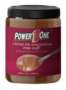 Creme de Amendoim com Café (1Kg) - Power one