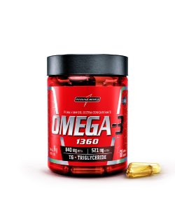 Omega 3 EPA 840 MG / DHA 521 MG - 60 Cápsulas - Integralmedica