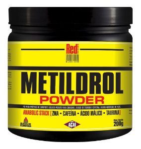 Metildrol Powder 200g Açai - Red Series