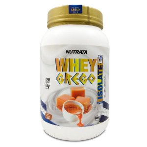 Whey Grego Isolate 900g - Nutrata
