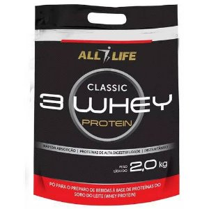 Classic 3 Whey Protein 2kg - All Life