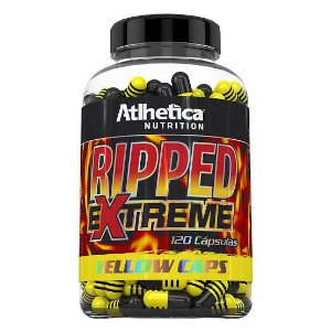 Ripped Extreme Yellow Caps - 120 cápsulas - Atlhetica Nutrition