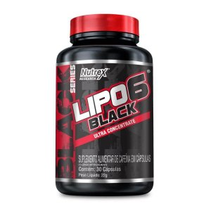 Lipo 6 Black Ultra Concentrate 30 Cápsulas - Nutrex