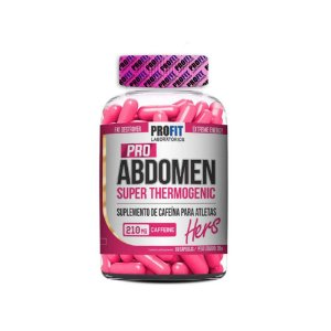 Termogênico Pro Abdomen Super 60 cápsulas - Profit Laboratórios