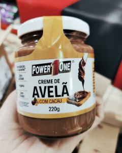 Creme de Avelã 220g - Power One