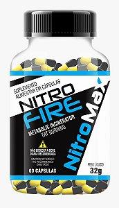 Termogênico Nitro Fire 420mg 60 cápsulas - NitroMax