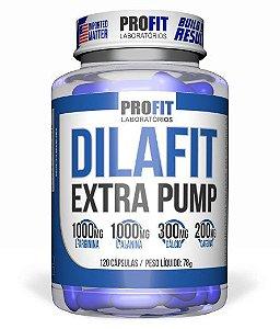 Vasodilatador Dilafit Extra Pump 120 caps - Profit Laboratórios