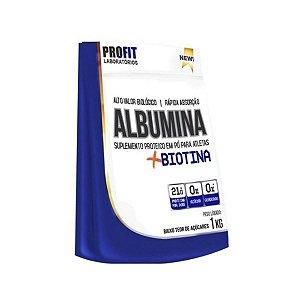 Albumina + Biotina 1Kg - Profit Laboratórios