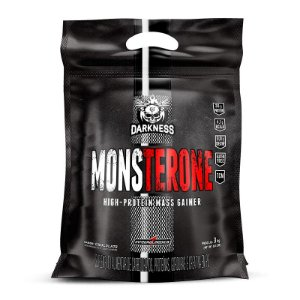 Hipercalórico Monsterone High-protein mass gainer 3kg - Darkness