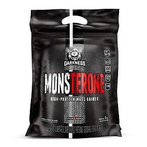 Hipercalórico Monsterone High-protein mass gainer 3kg - Darkness