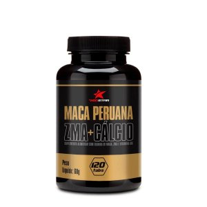 Maca Peruana + ZMA + Cálcio 60 tabletes - Red Series