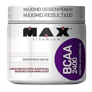BCAA 2400mg 450 cápsulas - Max Titanium