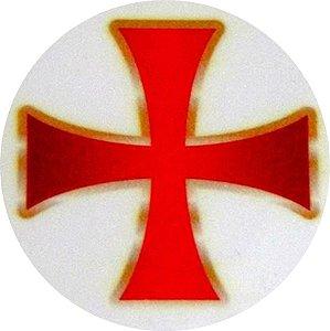 Adesivo Cruz Templária - Externo