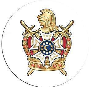 Adesivo Emblema DeMolay