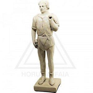 Estatua Companheiro - Gesso