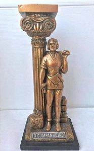 Estatua O Companheiro Bronze - Resina