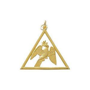 Joia 1º Diácono REAA Dourada