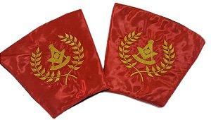 Punhos Past-Master - COMAB/GOP