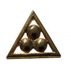 Pin Triângulo com 3 Pontos