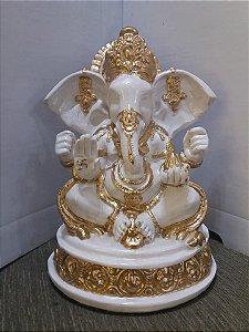 Estatua Ganesha Prosperidade