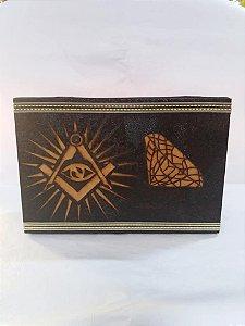 caixa para presente em madeira