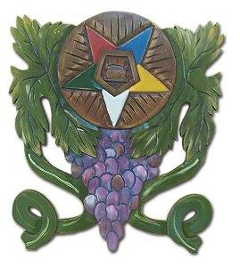 Quadro Estrelas e cacho de uva
